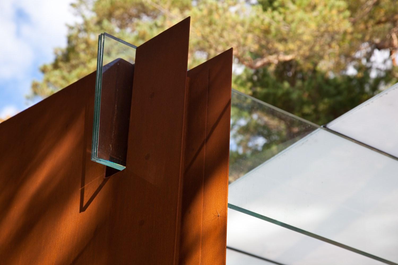 Midt 197 Sen Skulpturpark Skandinaviska Glassystem