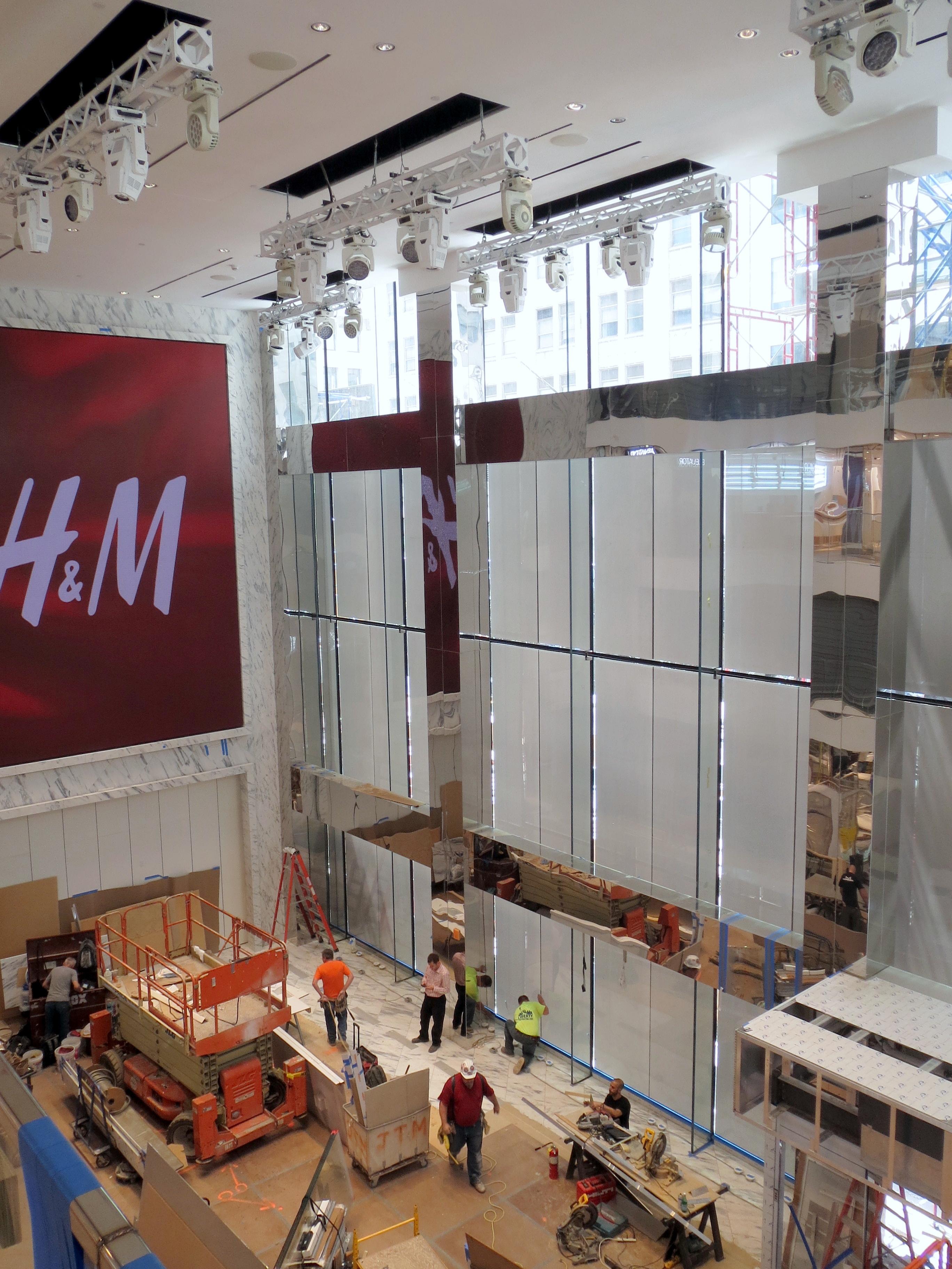 H&M, New York | Skandinaviska Glassystem